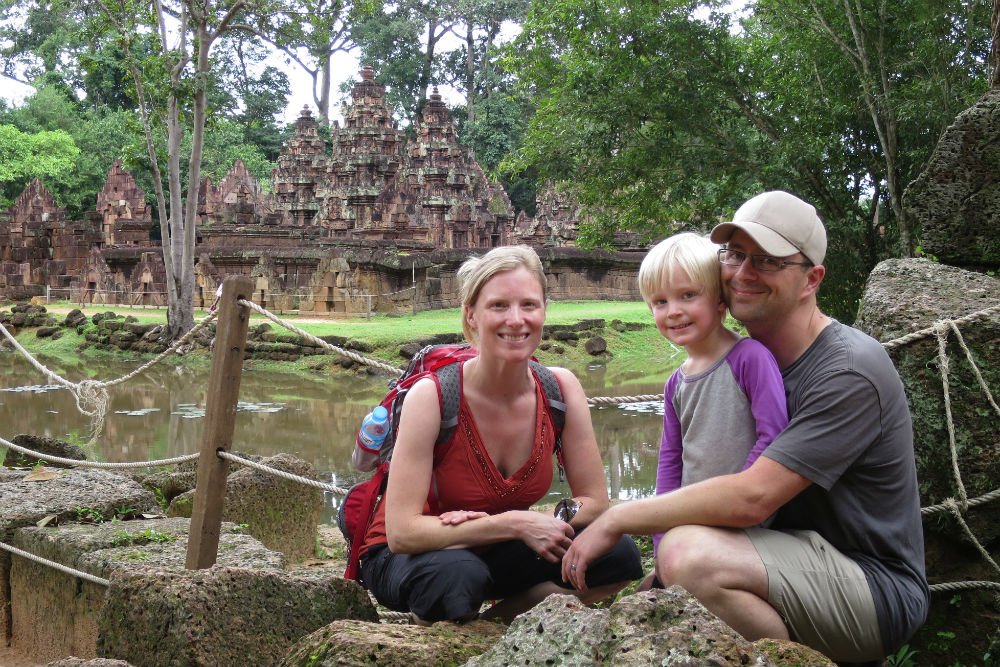 "It is possible to take exotic trips with young kids. Zeke still talks about our ""big trip,"" even mentions Cambodia and Vietnam by name."