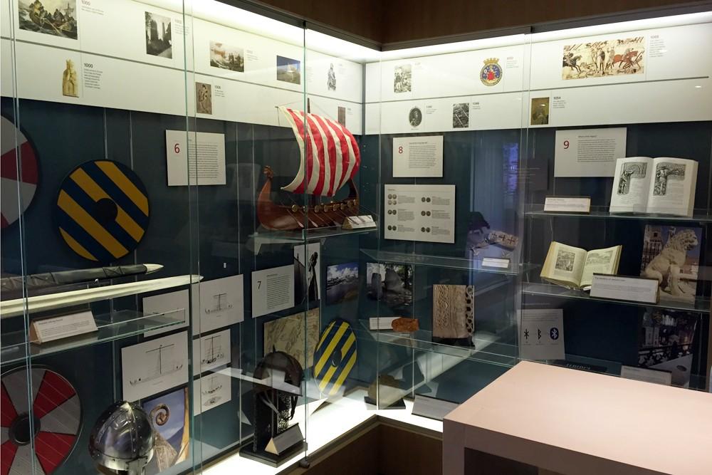 Viking Heritage Museum on Viking Star cruise ship