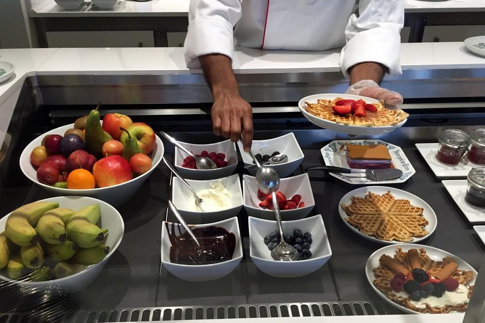 breakfast on Viking Star cruise ship