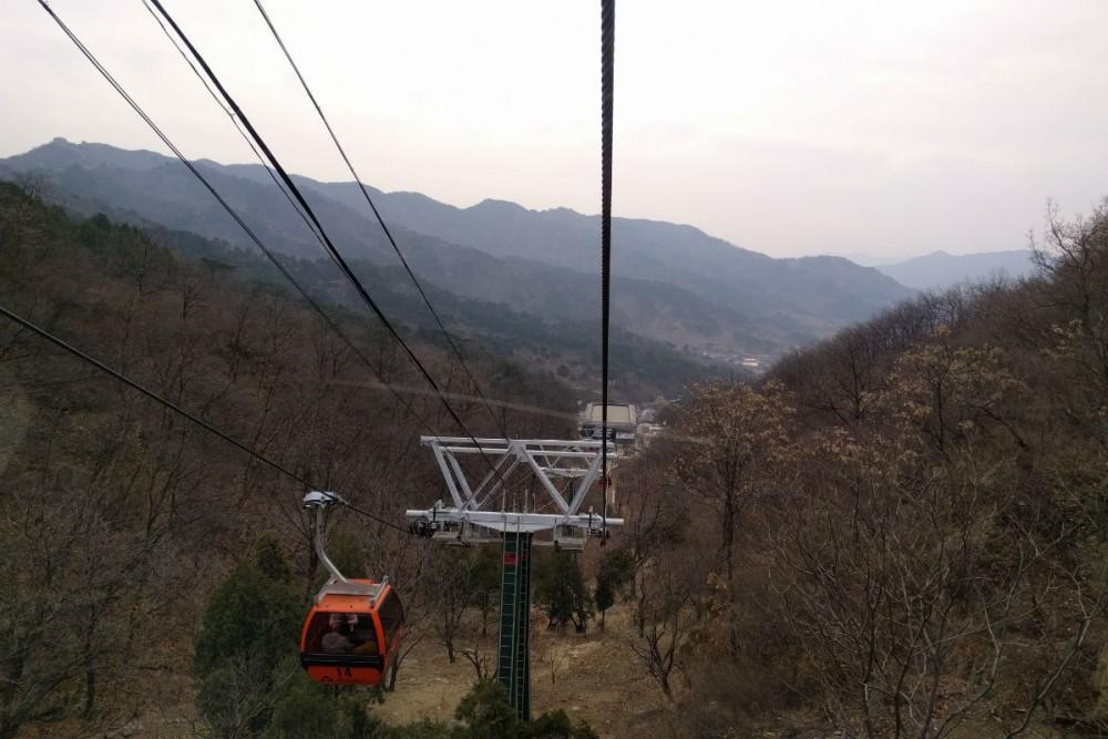 Mutianyu Great Wall of China chairlift