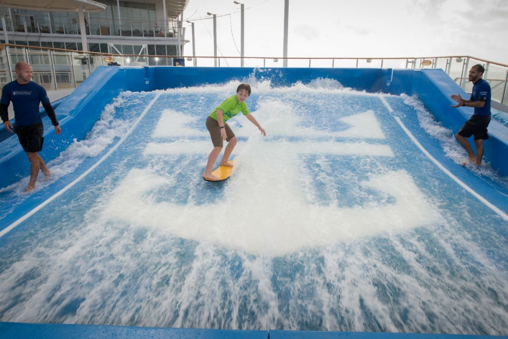 Flow Rider on Royal Caribbean's Allure of the Seas