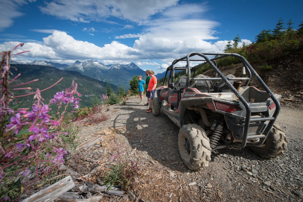 The view from the summit of our RZR adventure. Photo: Tim Baker.