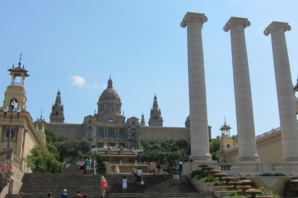 Museu Nacional d'Art de Catalonia, Barcelona, Spain. Photo: Context Travel