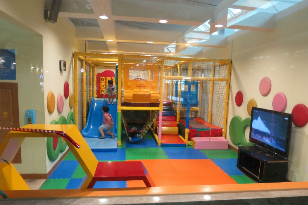 Kids area in the Terminal, Seoul Incheon Airport