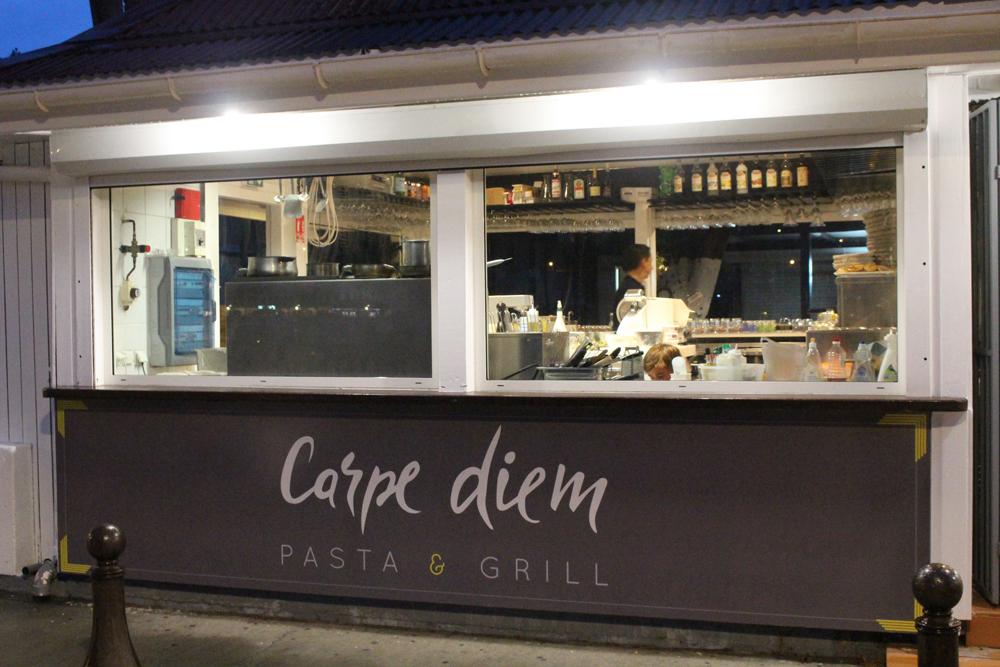 Be sure to try the homemade pasta including the duck ravioli with mushroom sauce at Carpe Diem, St. Barth. Photo: Carpe Diem