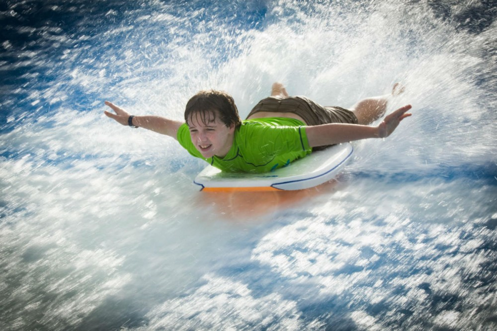 the Flow Rider on Royal Caribbean's Allure of the Seas