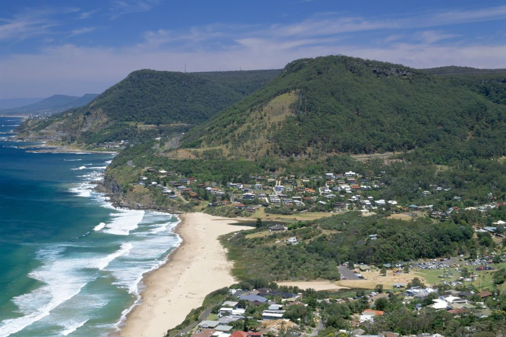 Stanwell Tops Lookout, Royal National Park, Australia