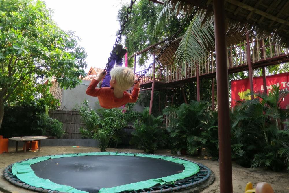 Dingo Deli in Hoi An trampoline