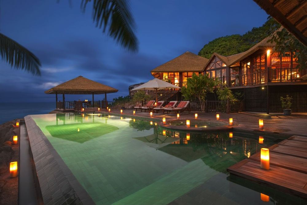 One of the beautiful villas at Frigate Island Private in the Seychelles