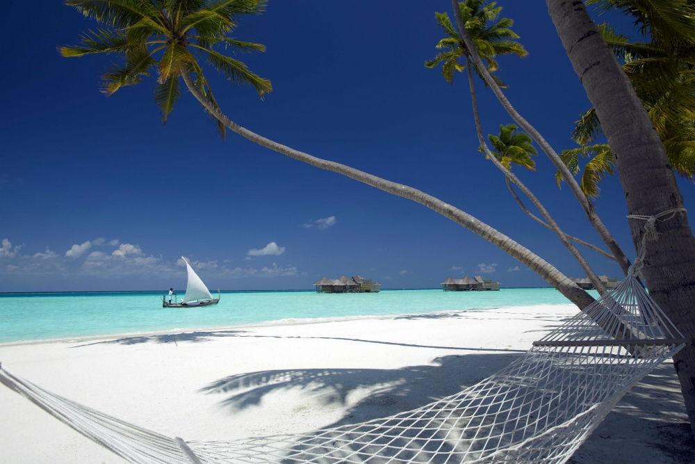 Beach views from Gili Lankanfushi, Maldives