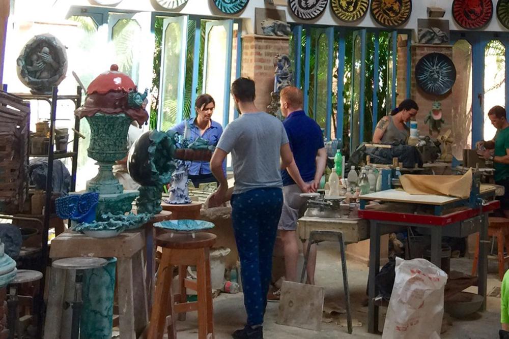 Inside the Insituto Superior de Arte in Havana, Cuba. Photo: CulturalCuba