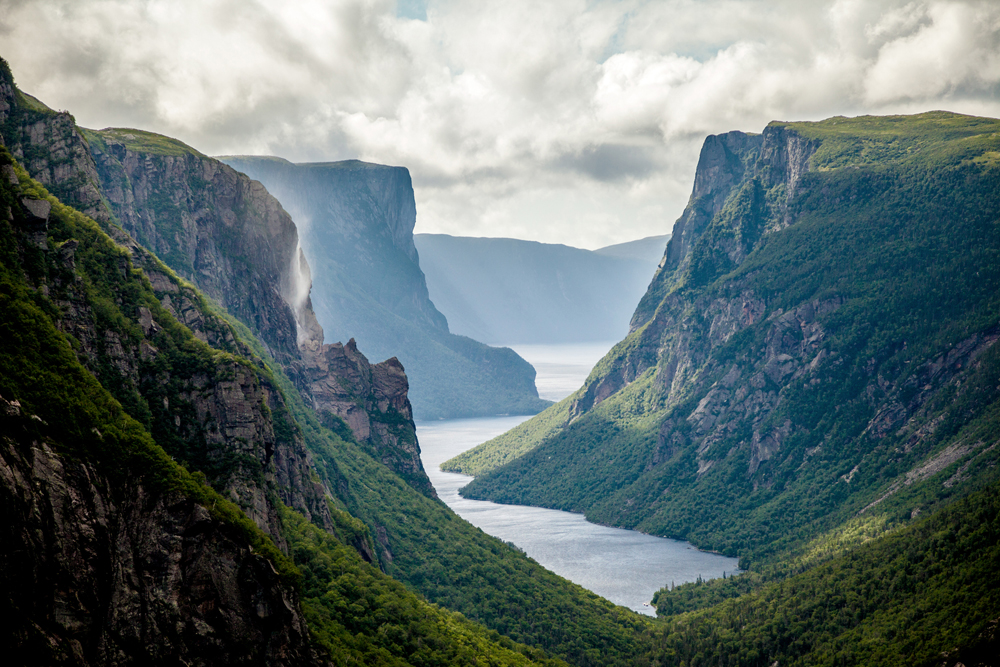 Gros Morne Western Brook Pond fjord, Newfoundland