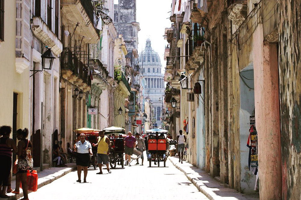 Streets of Old Havana, Cuba. Photo: CulturalCuba
