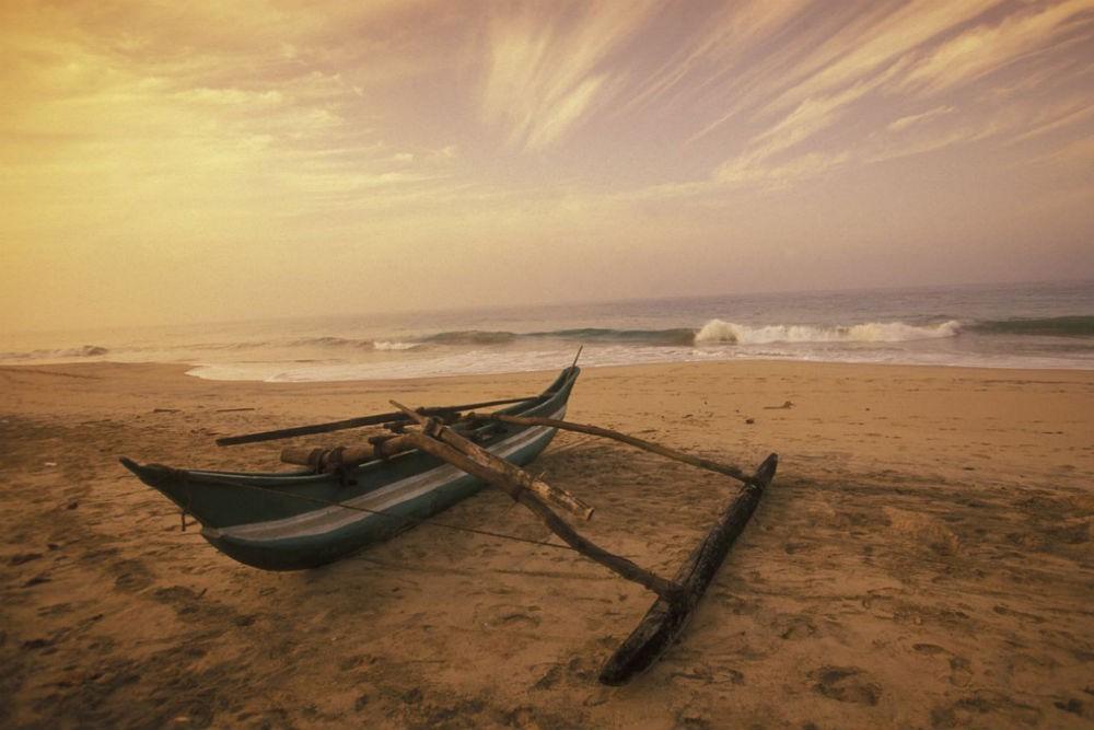 Beautiful Sunset at Tangalle, Sri Lanka
