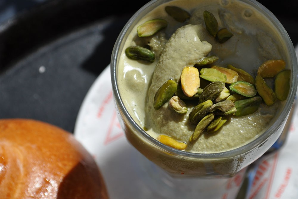 pistachio gelato italy