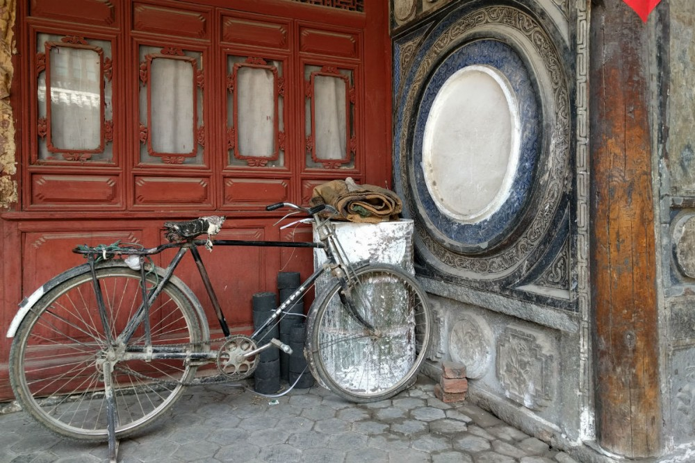 Inside a local's home in Old Dali, Yunnan Province China