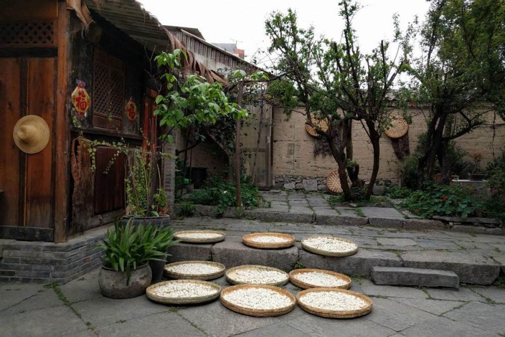 Dali Yunnan Province China embroidery school
