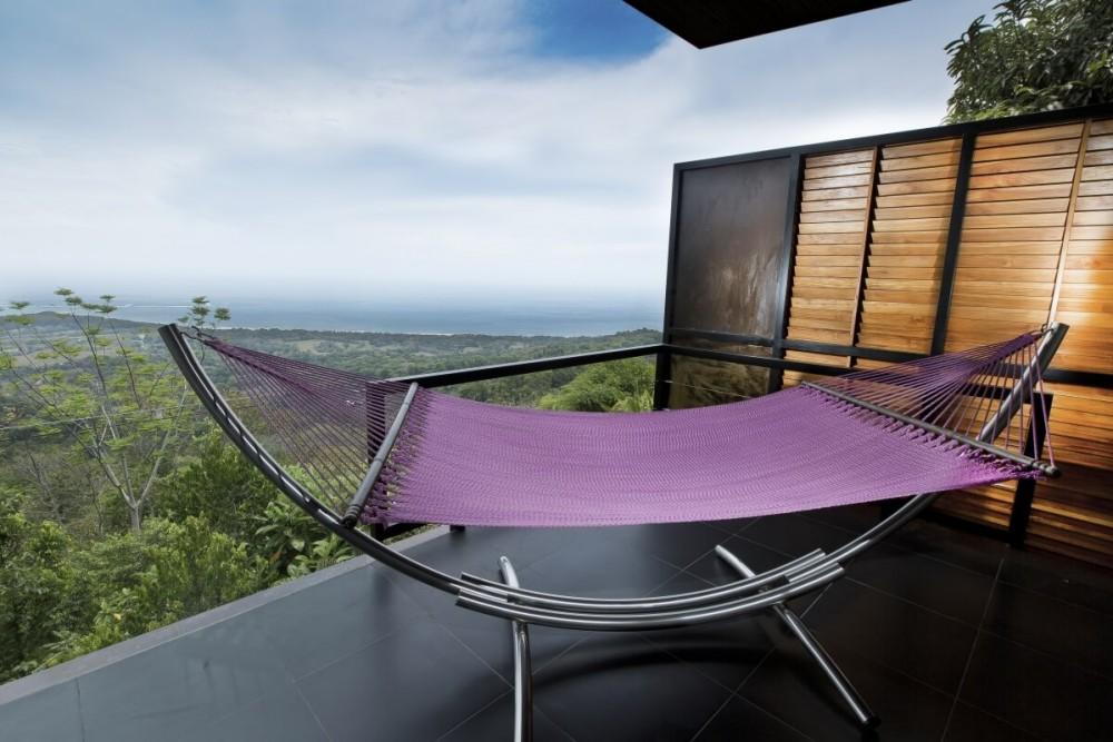 hammock overlooking costa rica greenery