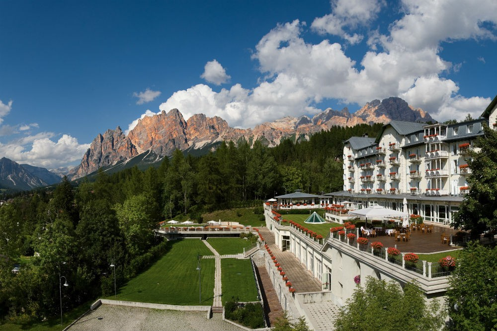 Hotel Cristallo Cortina, Dolomites, Italy