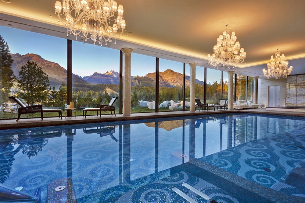 The Zion spa at the Kempinski Hotel High Tatras, Slovakia. Photo credit: Kempinski Hotel High Tatras.