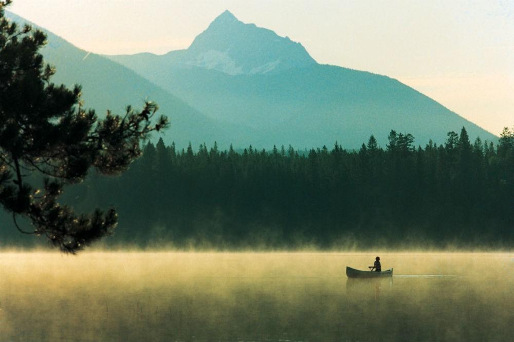 canoeing at whistler british columbia