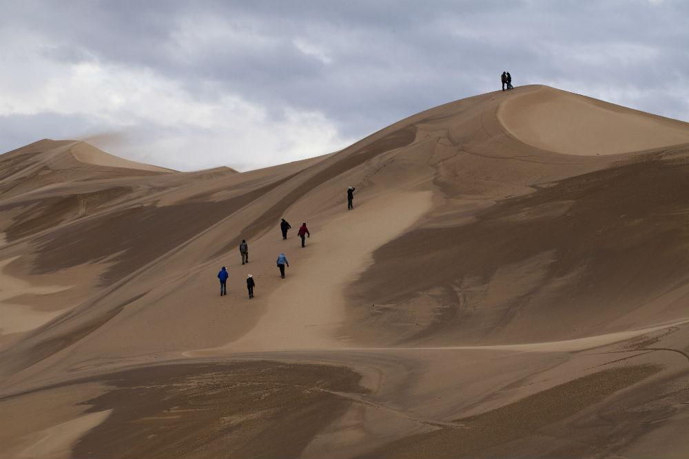 Mongolia sand dunes. Photo: I. Mogilner