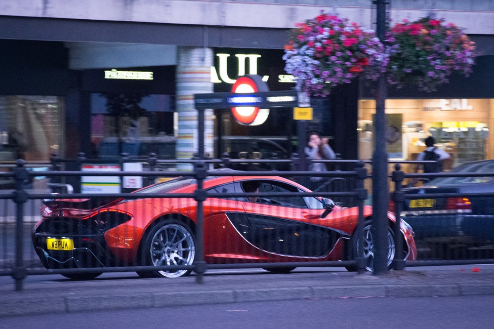 McLaren P1 in Notting Hill