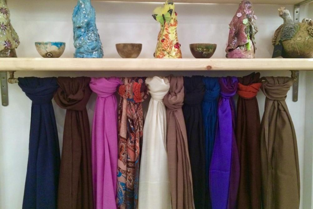 ...scarves..