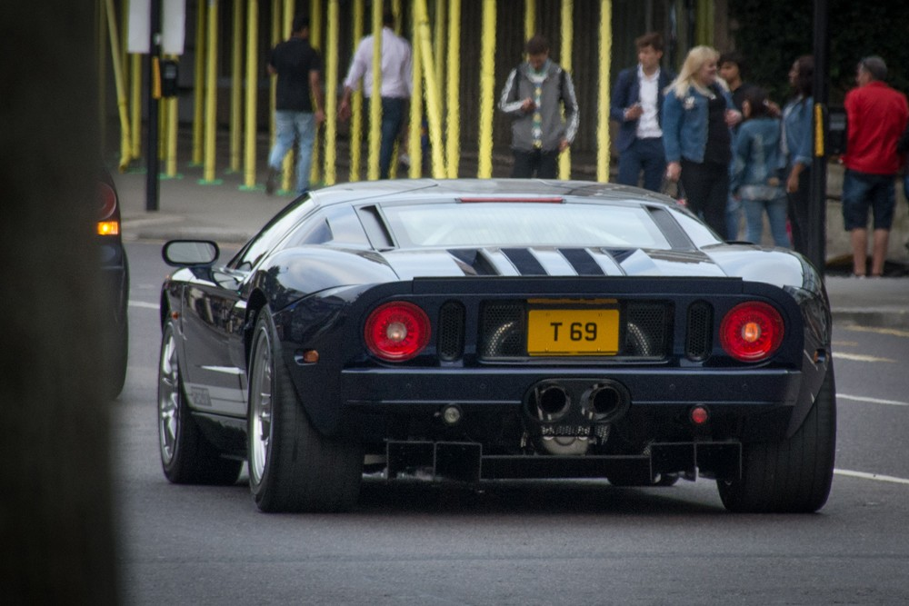 Ford GT in Notting Hill