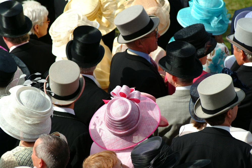 hats at the royal ascot horse races in england