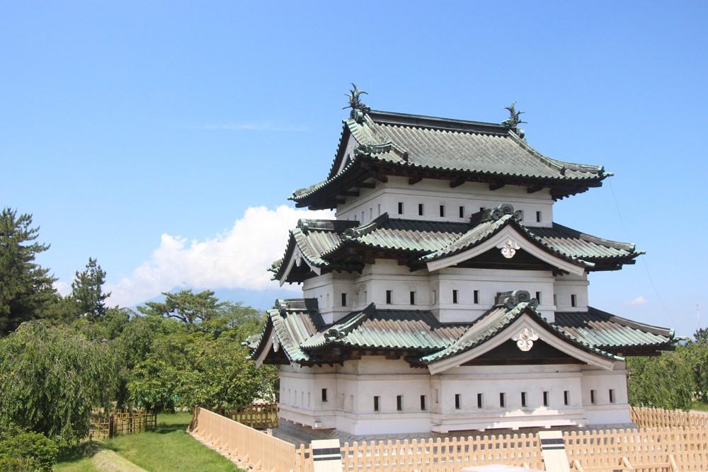 Hiroshiki Castle, Hirosaki, Aomori Japan