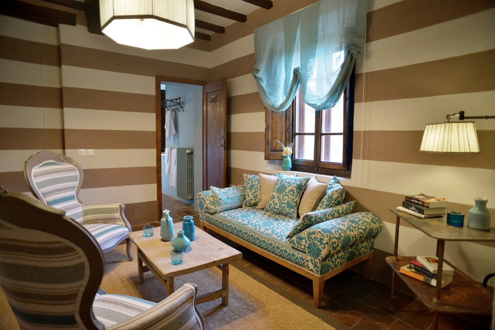 Brunello suite sitting room