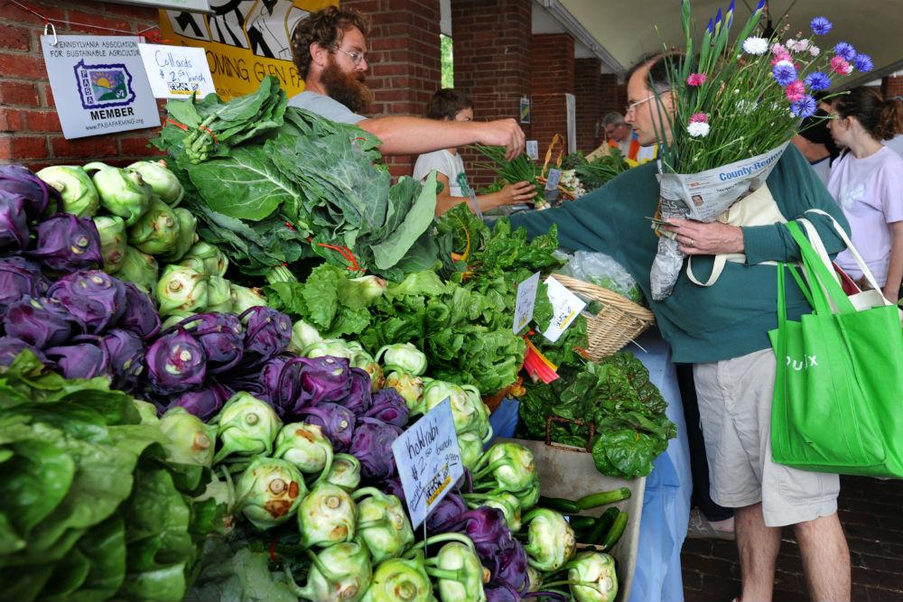Philadelphia's Headhouse Farmers Market