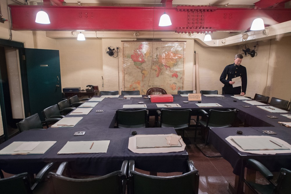 At the Churchill War Rooms you see the World War 2 bunker that shows how Britain was run during the war.