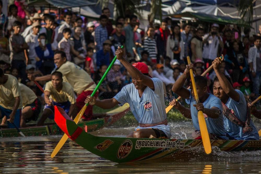 Water Festival in Siem Reap Cambodia