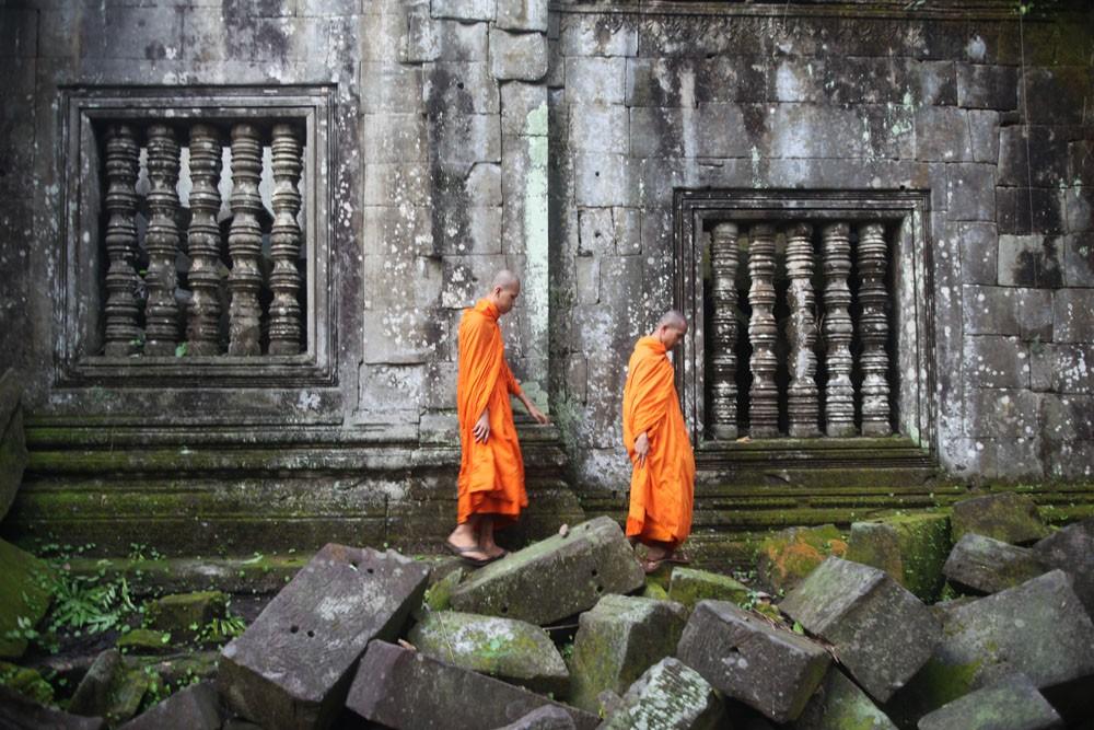 Beng Melea temple, Siem Reap, Cambodia.