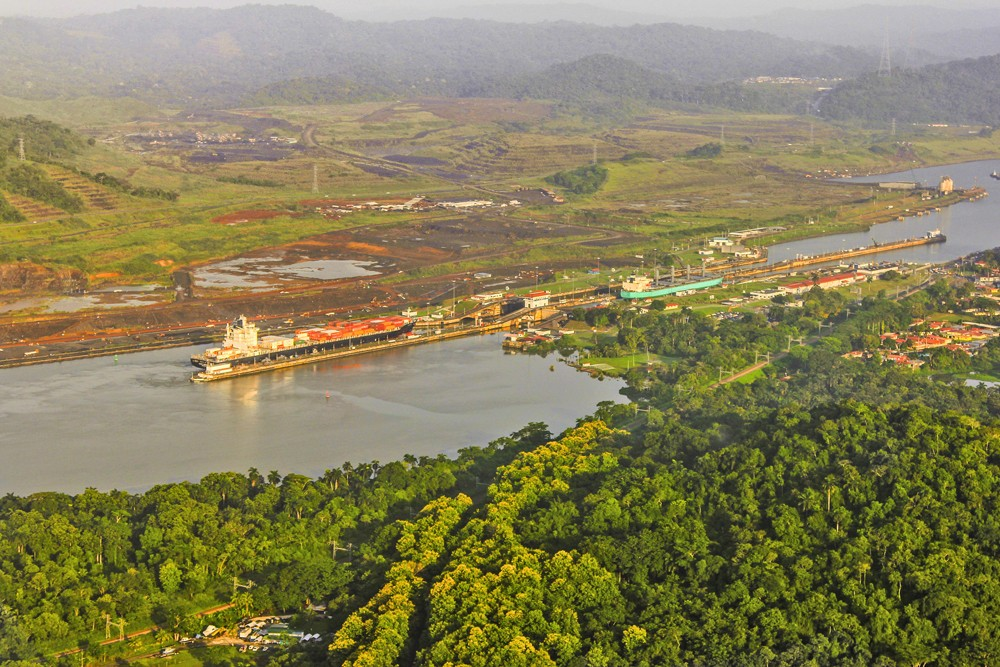 Panama canal. Photo: Latin Excursions
