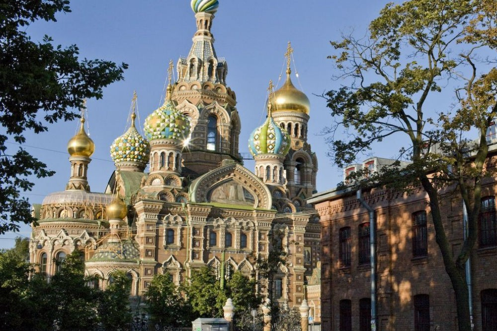 Church of the Resurection, St. Petersburg, Russia