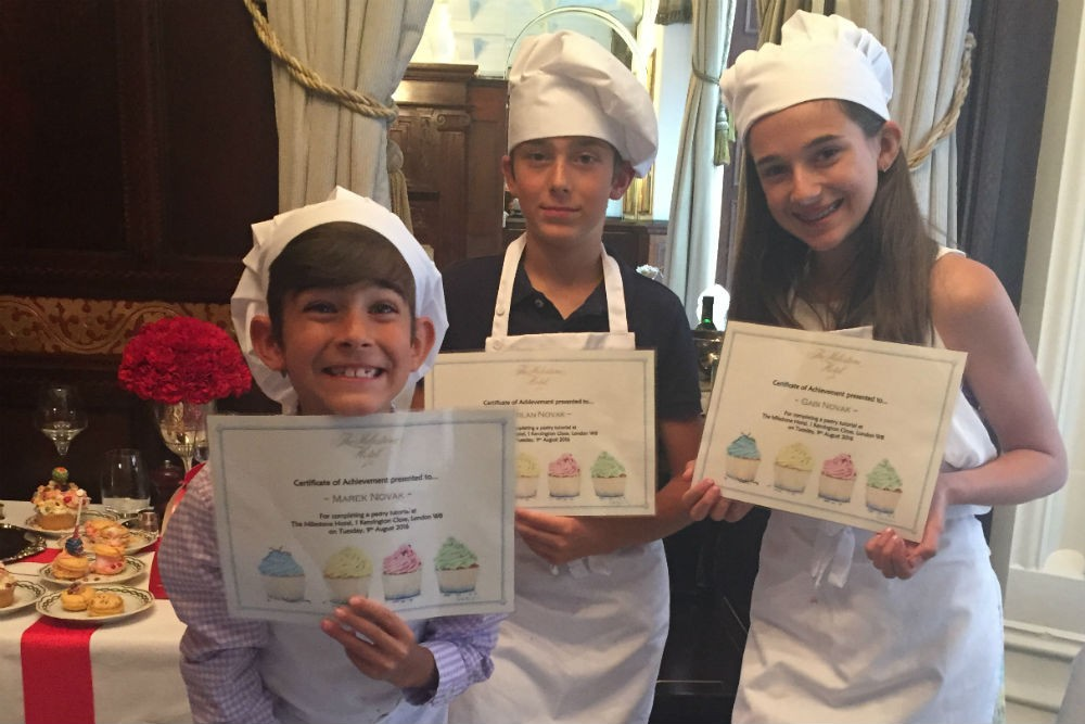 kids pastry class London