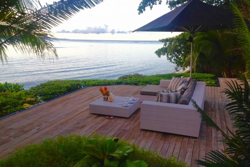 Beachfront villa, Fiji