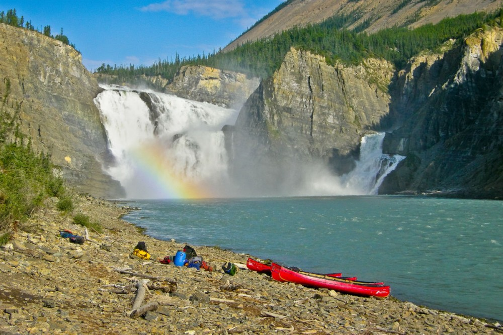 Virginia Falls, Nahanni National Park, Canada