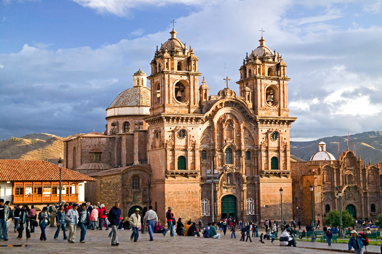 Cusco city center, Peru