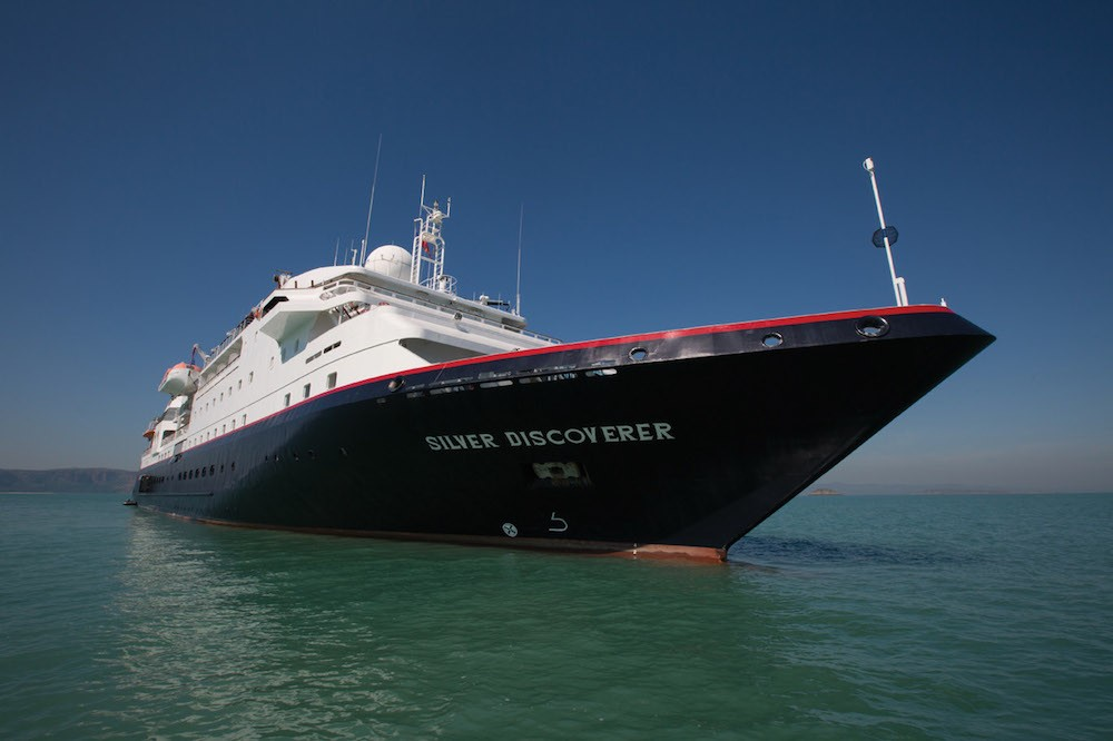 Silversea Discoverer cruise ship