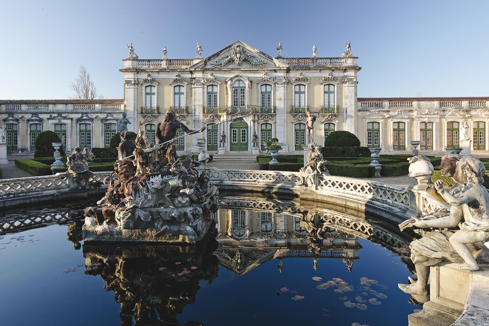 Queluz Palace, Lisbon, Portugal. Photo: Estoril Tourism Board