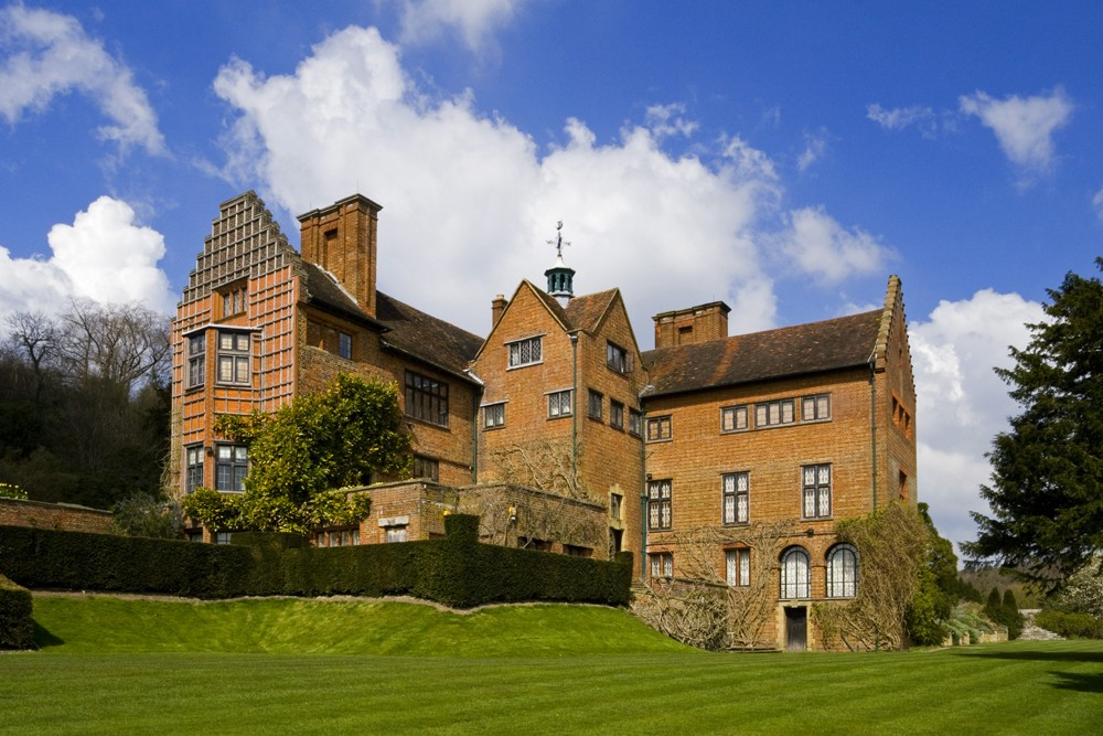 The south front of Chartwell, the home of Sir Winston Churchill between 1922 and 1964, Kent.
