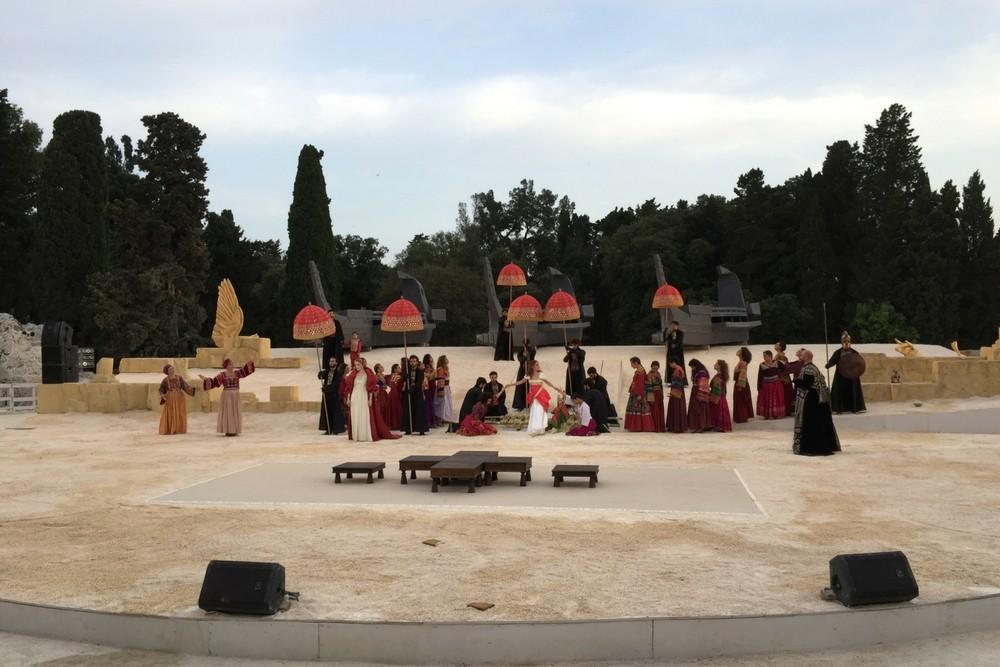 Greek Theater, Sircusa, Italy