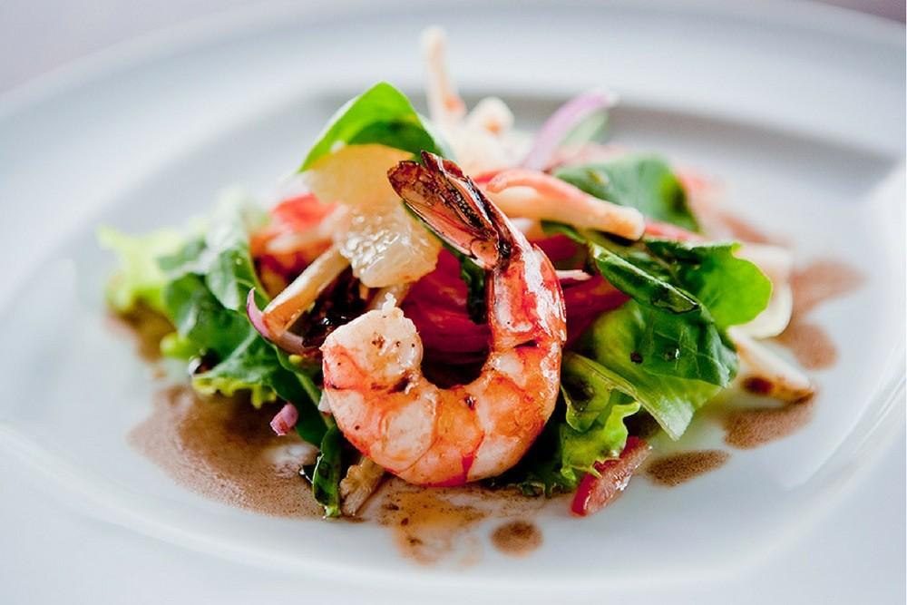 Caribbean seafood