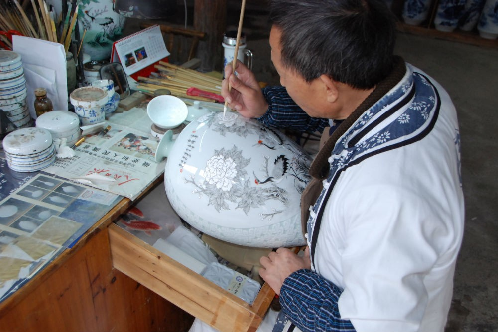 The Jingdezhen International Pottery and Porcelain Festival runs throughout the month of October