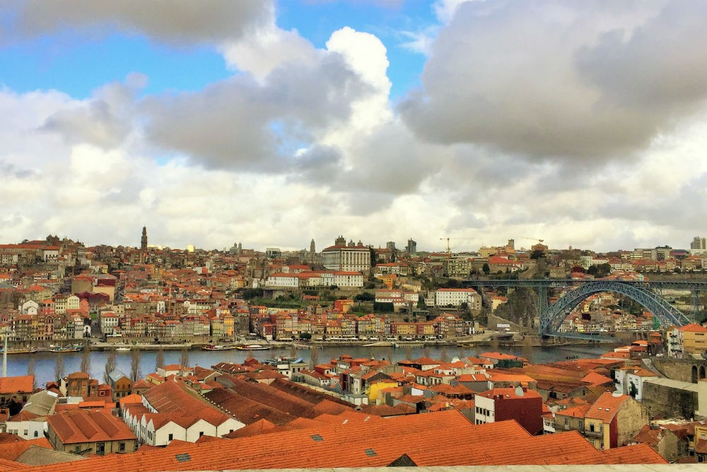 Porto, Portugal skyline view