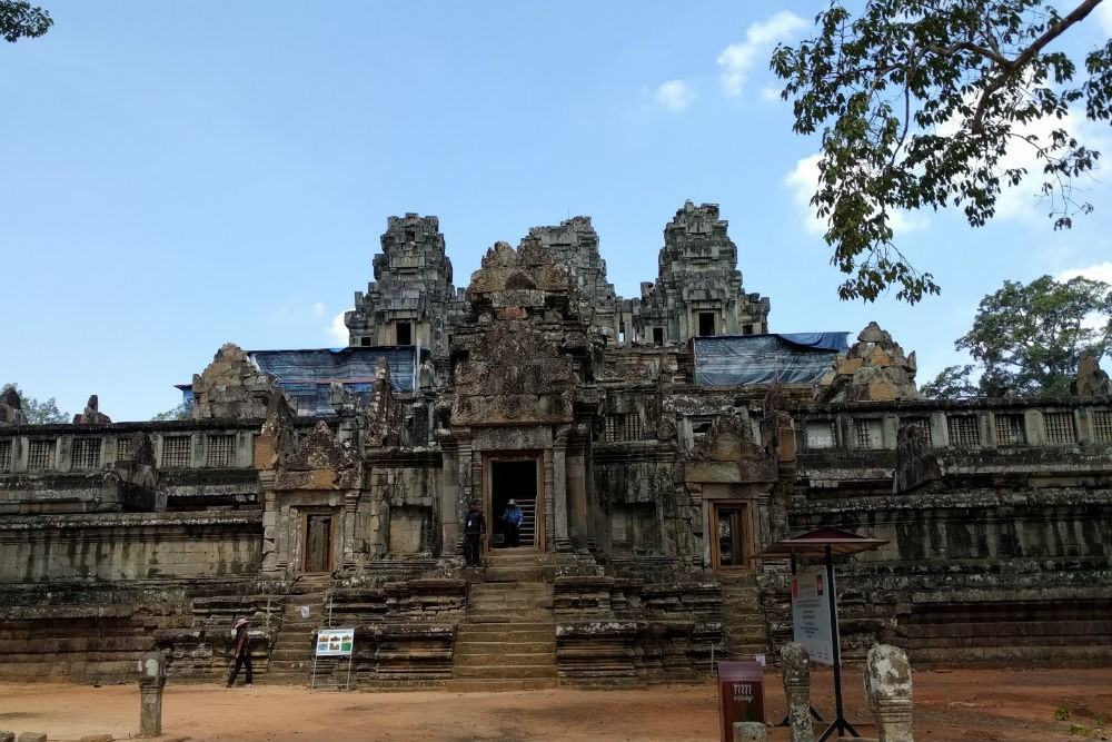 Ta Keo temple, Angkor Wat Archaeological Park, Cambodia